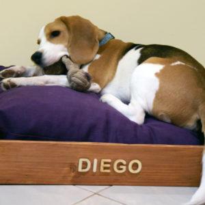 Mingó kutyaágy (60×60)