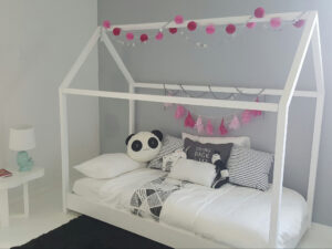 házikó ágy gyerekbútor