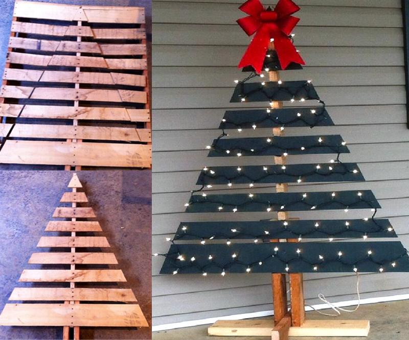 csináld magad karácsonyfa ötlet