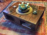 LIBLING raklap asztal üvegezve