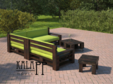 Frisco kerti bútor sarokszett