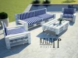 Prosecco raklap stílusú kerti bútor szett UV-álló huzattal