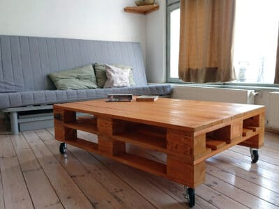 Raklap asztalok