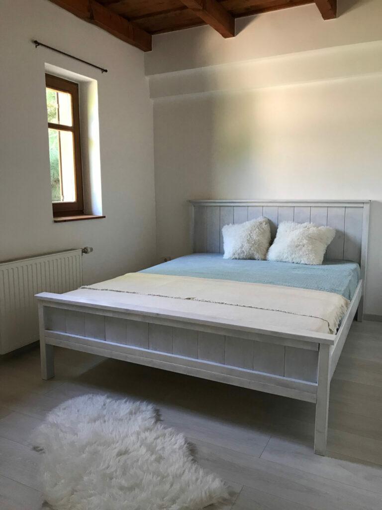 rusztikus egyedi ágy