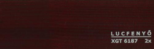 """XGT 6187 """"vörös mahagóni"""""""